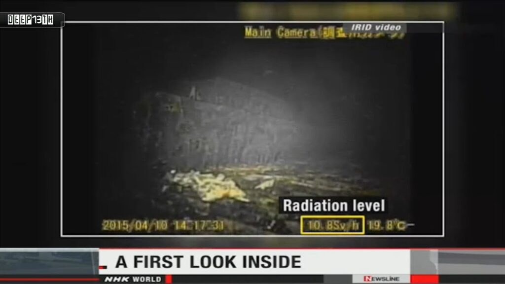 Nuclear Watch: Fukushima TEPCO releases Reactor footage captured by robot + Abe rate 51% 4/13/2015